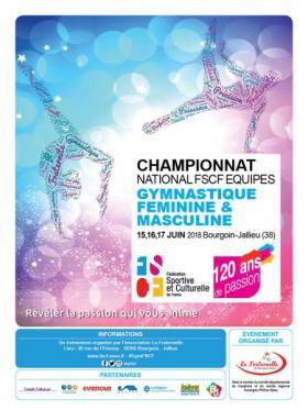 Championnat national mixte par équipes de gymnastique 2018