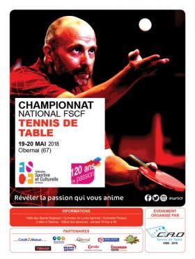 tennis de table FSCF
