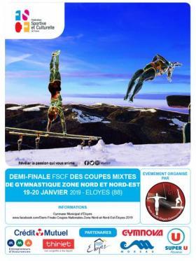 Gym Mixte - Demi-finales des coupes 2019 - Zone Nord