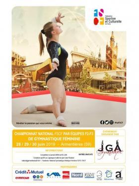 gymnastique féminine FSCF