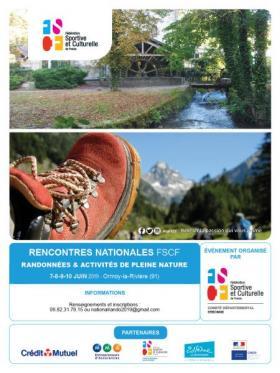 encontres nationales FSCF Randonnées et activités de pleine nature