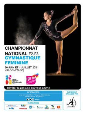 Championnat national par équipes de gymnastique féminine (F2-F3)  80672817389