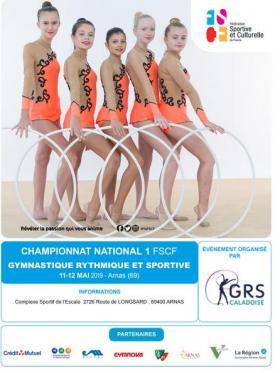 GRS National 1 - Affiche - Villefranche 2019