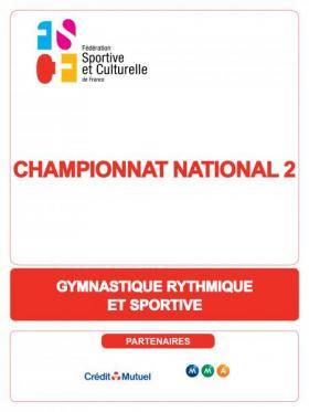 Championnat national 2 de GRS 2020 - Besançon (25)