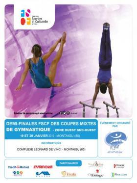 Gym Mixte - Demi-finales des coupes 2019 - Zone Ouest/Sud-ouest
