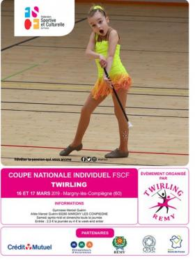 Twirling - Coupe nationale individuel - Rémy 2019