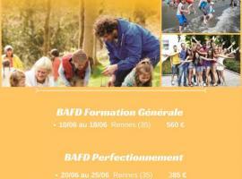 Prochaines Fomations BAFA/BAFD en Bretagne