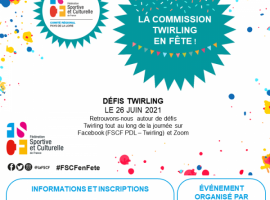 FSCF en fête Twirling