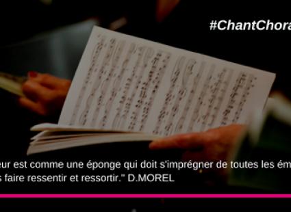 FSCF Interview Chant Choral Dominique Morel