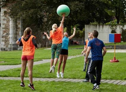 Le Poull Ball, un sport fun venu du plat pays