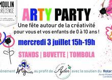 """<a href=""""/actualites/eveil-aux-premiers-pas-arty-party"""">Eveil aux premiers pas à Arty Party !</a><div class=""""smartphoto_back_link""""><a href=""""/multimedia"""">Retour aux albums</a></div><div class=""""smartphoto_date_album"""">Album publié le 04/07/2019</div>"""