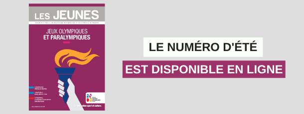 """Le numéro d'été du magazine """"Les Jeunes"""" est disponible en ligne !"""