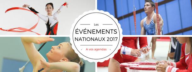 FSCF Événements nationaux gymnastique