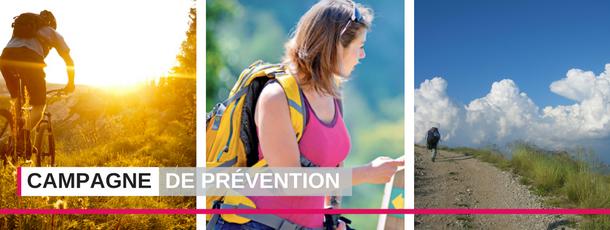 Campagne nationale « Pour un été sportif en toute sécurité »