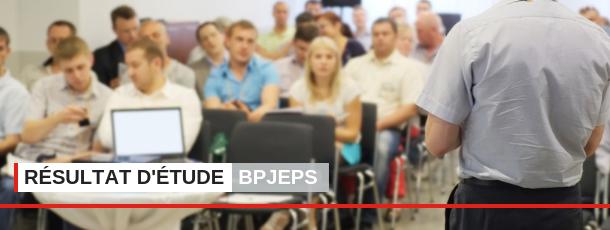 Une étude concernant le diplôme du BPJEPS a été menée par l'INJEP