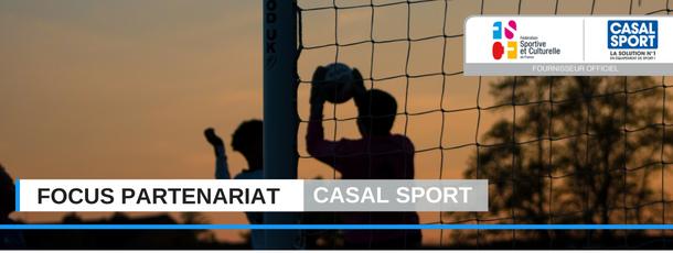 FSCF focus partenariat Casal Sport