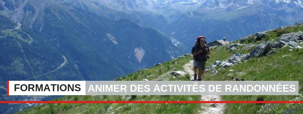 Animer des activités de randonnées de proximité et d'orientation