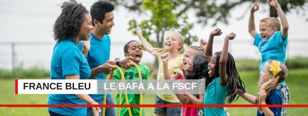 FSCF France bleu le BAFA FSCF à la radio