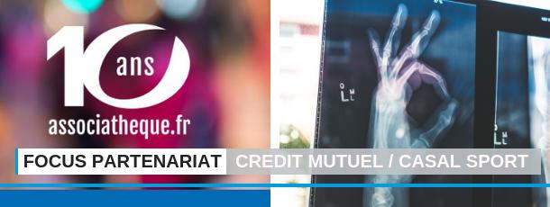 FSCF focus partenariat crédit mutuel casal sport
