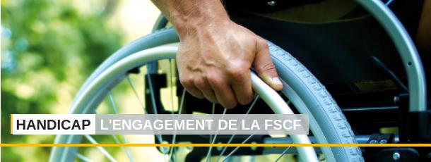 FSCF Handicap, l'engagement de la FSCF