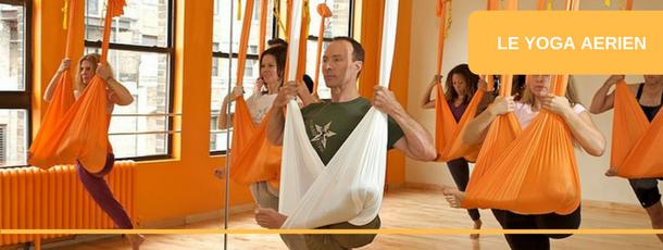 FSCF info sport santé : le yoga aérien