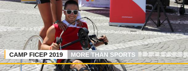 More Than Sport, slogan du camp 2019