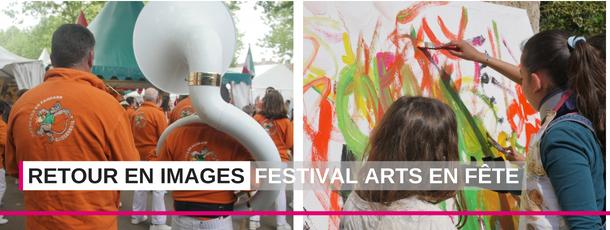 Vidéo : découvrez en images la première édition du festival Arts en fête