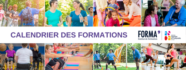 Calendrier des formations FORMA'
