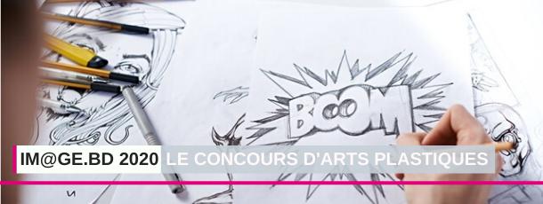 """""""Im@ge.BD 2020"""" 1ère édition du CONCOURS d'Arts plastiques de la CN PAC"""
