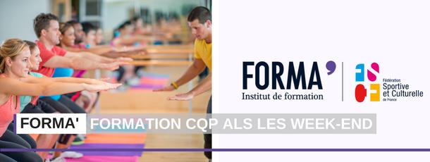 FORMA' ouvre une formation CQP ALS option AGEE sur les Week-end, en Pays de la Loire