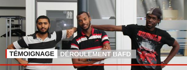 Interview : Trois participants à la formation BAFD témoignent de leurs expériences.  Voir