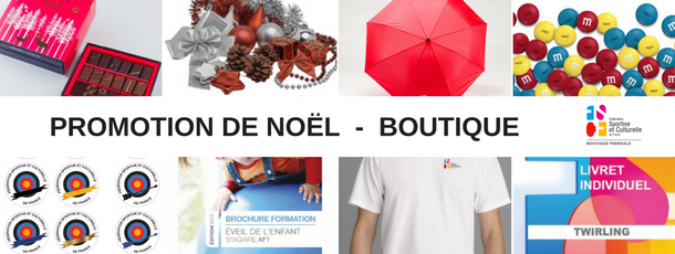Promotion boutique fscf noel