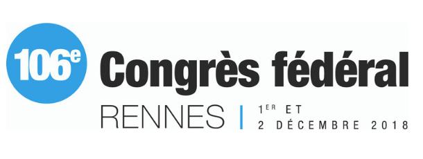 Congrès 2018 : quelques jours pour vous inscrire !