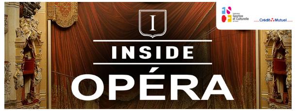 L'Opéra Garnier accueille la chorale de la FSCF pour l'évènement Inside Opéra