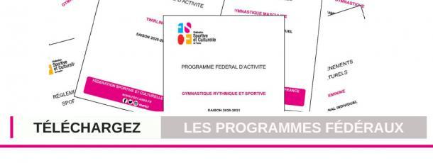 FSCF programmes fédéraux