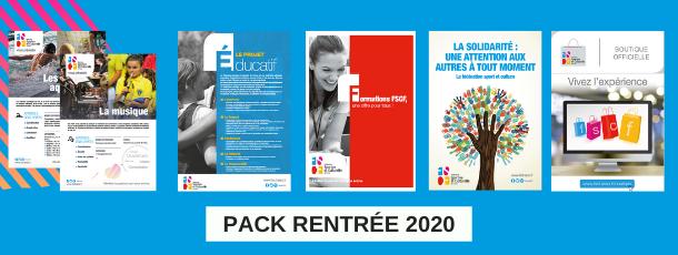 Le pack rentrée 2020 est disponible