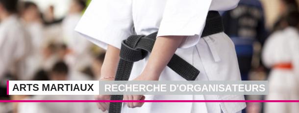FSCF Recherche organisateurs Arts martiaux