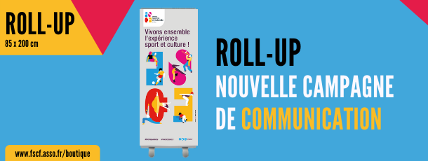FSCF roll-up campagne communication