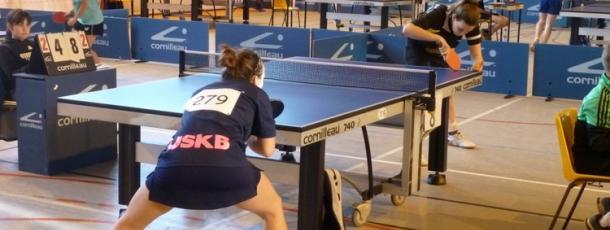 Championnat national de Tennis de Table.