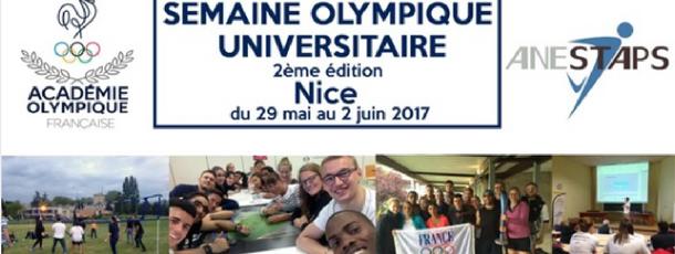Participez à la Semaine Olympique Universitaire