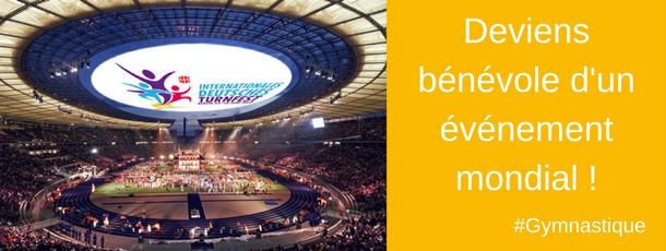 Deviens bénévole sur le plus grand rassemblement de gym d'Europe !