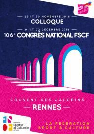 FSCF Ille-et-vilaine Visuel Congrès 2018