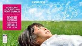 affiche semaine européenne du développement durable