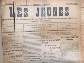 le journal Les Jeunes de 1905