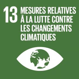 """Objectif de développement durable 13 """"Mesures relatives à la lutte contre les changements climatiques"""""""