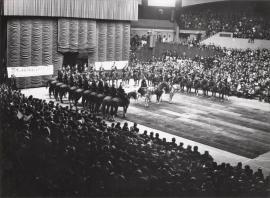 La Garde républicaine aux matinées sportives et récréatives du 8 février 1962