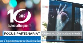 FSCF Focus partenariat : Crédit Mutuel - Casal Sport