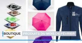 FSCF boutique officielle produits du mois de février 2020
