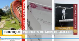 FSCF boutique produits du mois de juillet