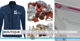 FSCF produits boutique novembre 2019
